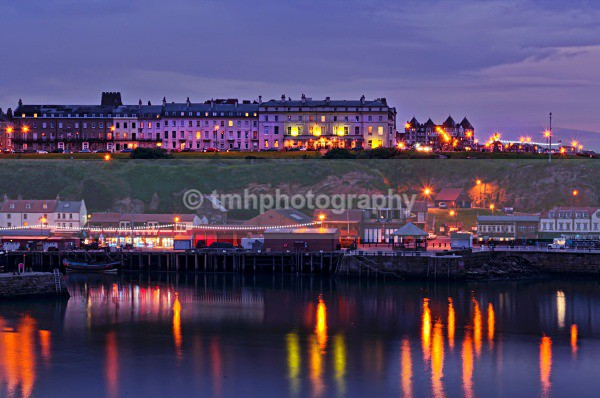 Whitby Reflection. - Low Light Photography
