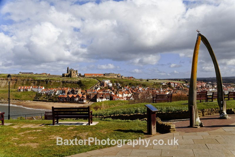 The Abbey and The Whale Bone Arch - Whitby
