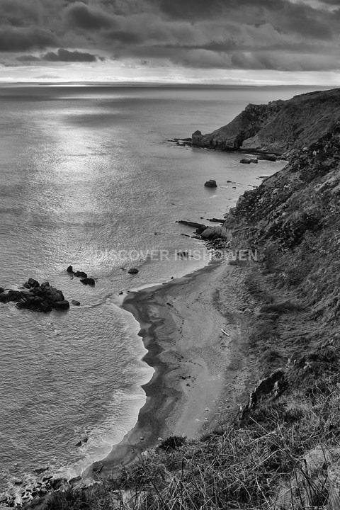 Inishowen Head - Inishowen peninsula- B&W
