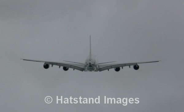 A380 Airbus - in the air