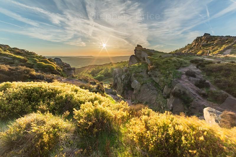 The Roaches Sunset | Peak District Landscape Photography