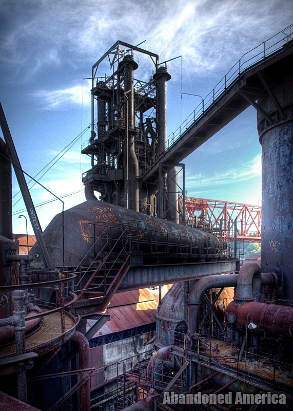 the hope of results - Carrie Furnaces