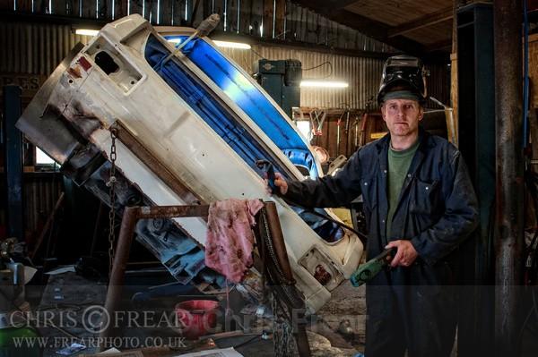 Ronnie the Mechanic - Workshop Portraits