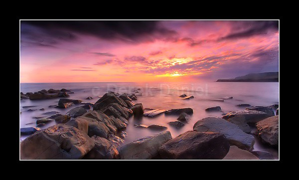 Kimmeridge Sunset - Dorset