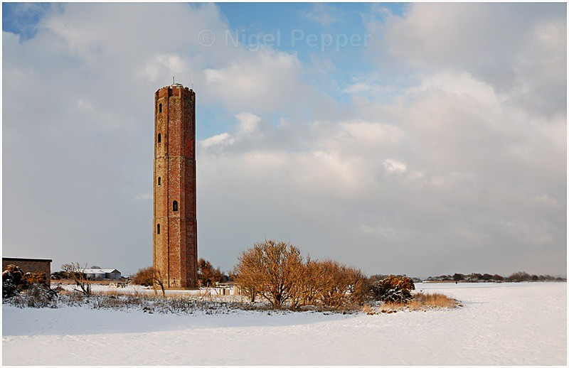 Naze Tower - Snow Pictures