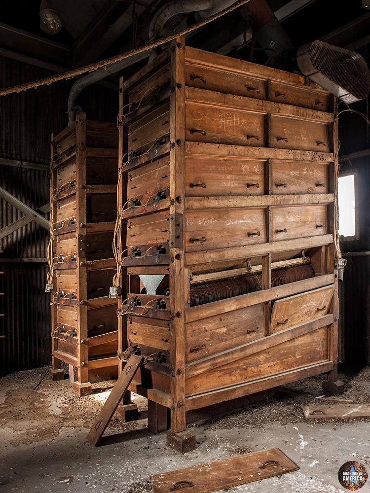 The Buffalo Grain Silos   Cord Shelves - The Buffalo Grain Silos