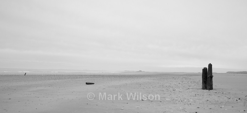 Deserted Norfolk Beach - Land and seascapes