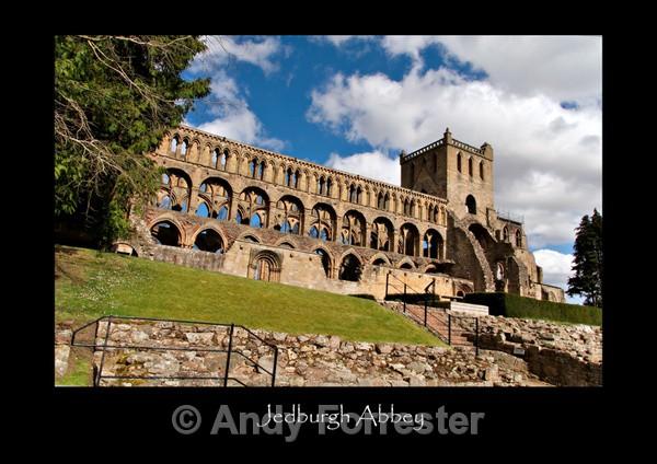 Jedburgh Abbey - Border Abbeys
