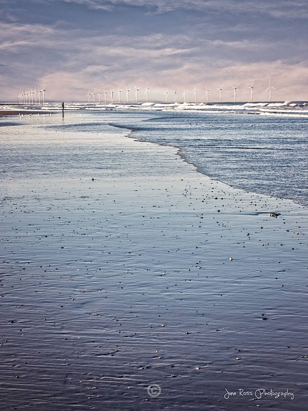 Beach at Marske by the Sea - North-East England