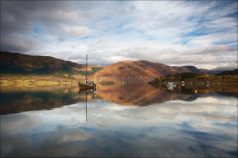 Loch Leven Reflections - Photographs of Scotland