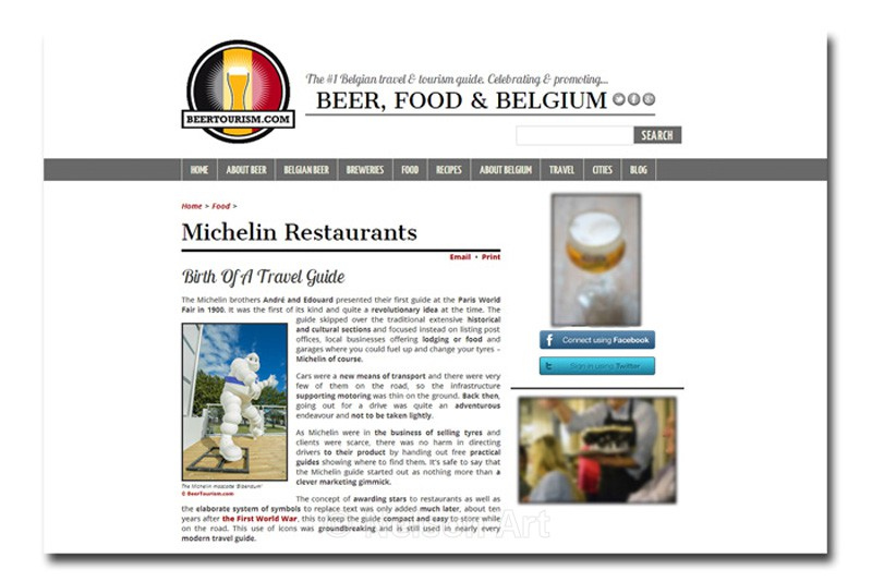 Belgium Tourism Guide - The Media