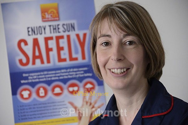 skin cancer melanoma nurse Vicy McMorran Macmillan sun protection