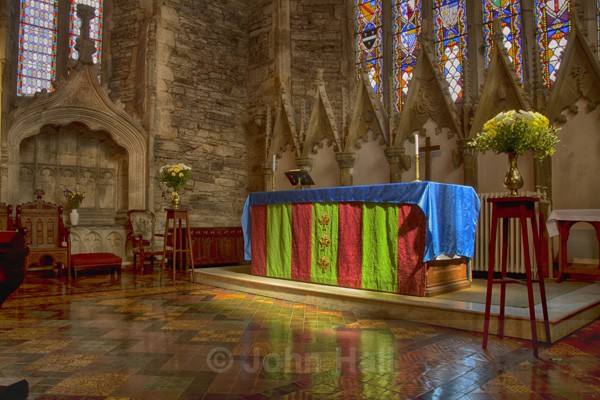 Interior Of St. Mary's Collegiate Church, Youghal, Co. Cork, Ireland.