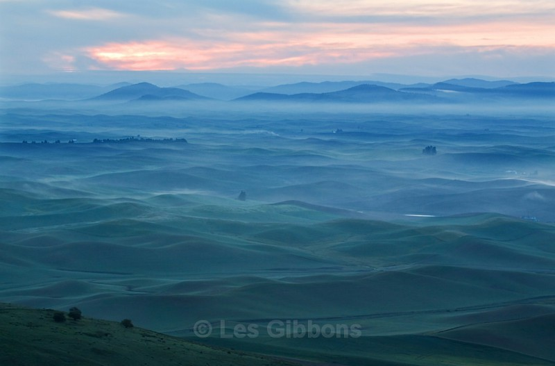 waiting for dawn 2 - Palouse