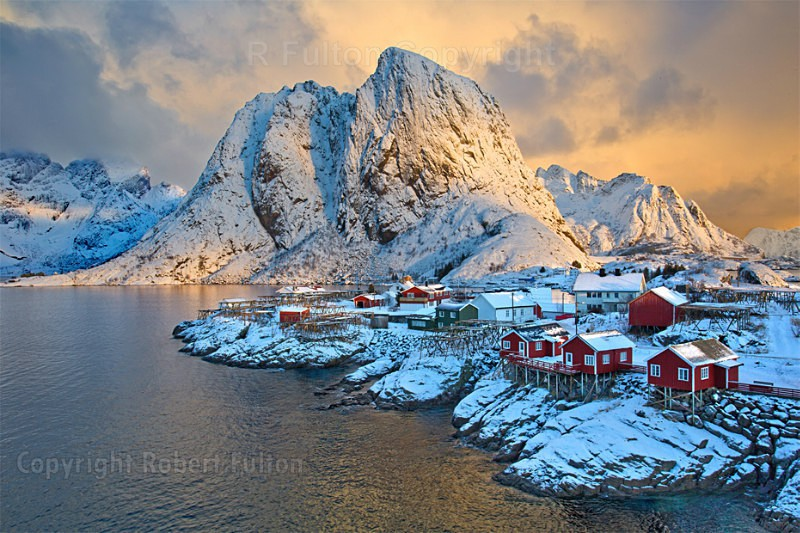 Sunrise on Hamnoy - Lofoten Islands - Norway