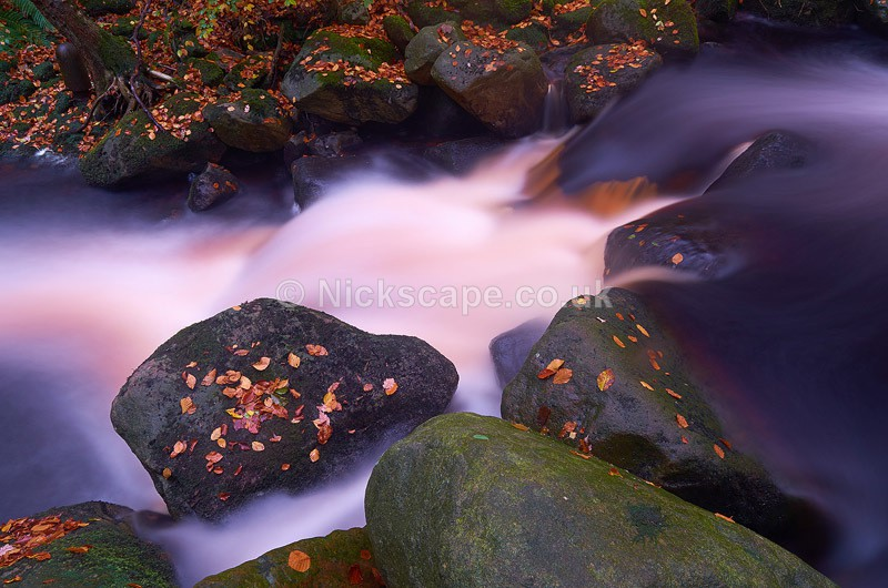 Long Exposure Waterfalls at Padley Gorge - Peak District, UK - Peak District Landscape Photography Gallery