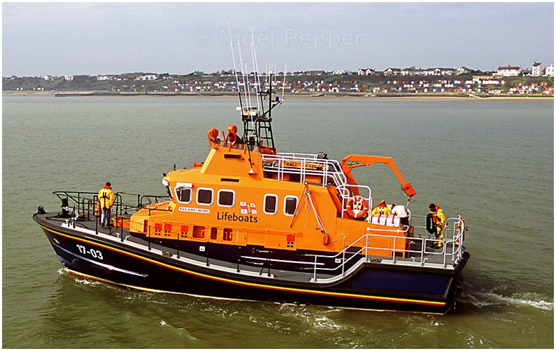 Harwich Lifeboat - Lifeboats