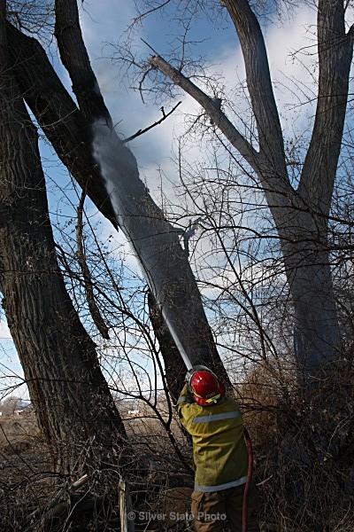 Initial Knock-Down - Fallon/Churchill Fire Department