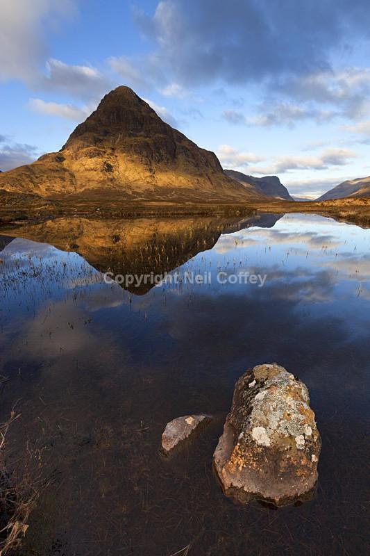 Buachaille Etive Beag, Glen Coe, Highland - Portrait format