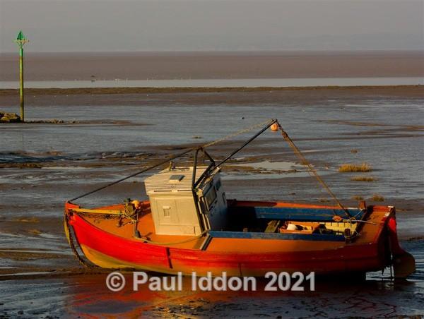 Boat at Morecambe - Landscapes