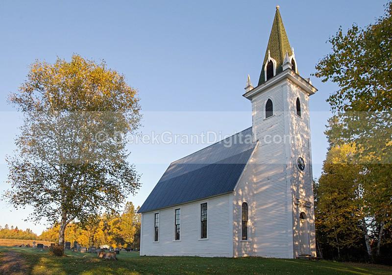 St. James United Church Three Brooks Victoria County New Brunswick - Churches of New Brunswick
