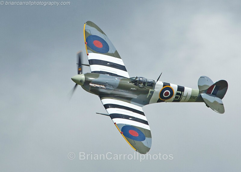 Supermarine Spitfire - Shuttleworth Air Show
