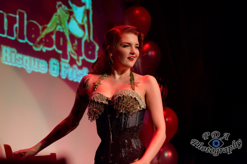 49 Millie Dollar in Burlesque Show Born to be Wild