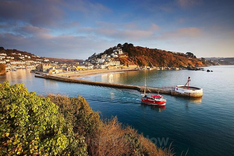 Looe Harbour - Cornwall - South Coast