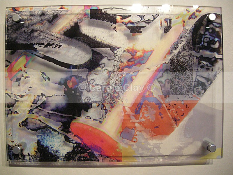 Abstract on Acrylic 1 - Substrate Gallery