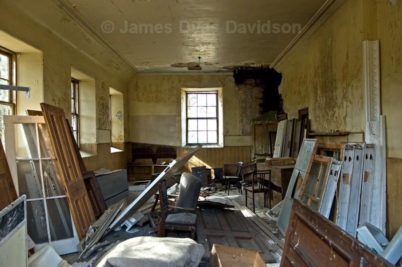 Old School classroom - Cabrach