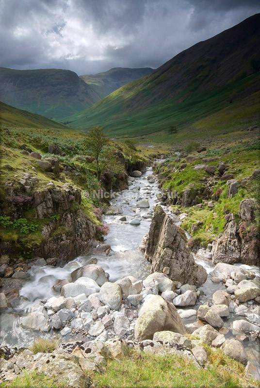 Cumbria53 - Lingmell Beck - Lake District National Park