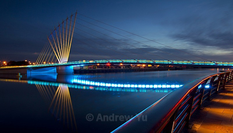 Bridge Reflections - Urban Landscape Photography