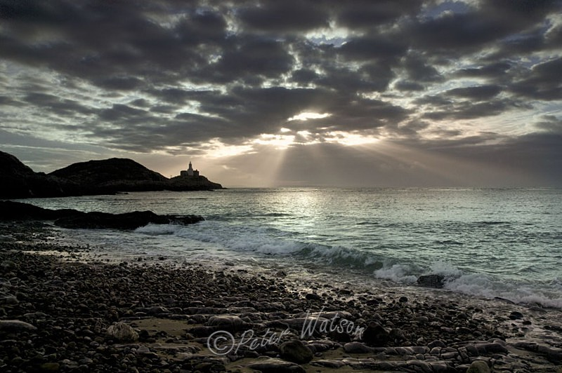 Mumbles Point Swansea Wales - Seascapes