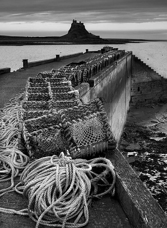Lindisfarne Harbour - 2004