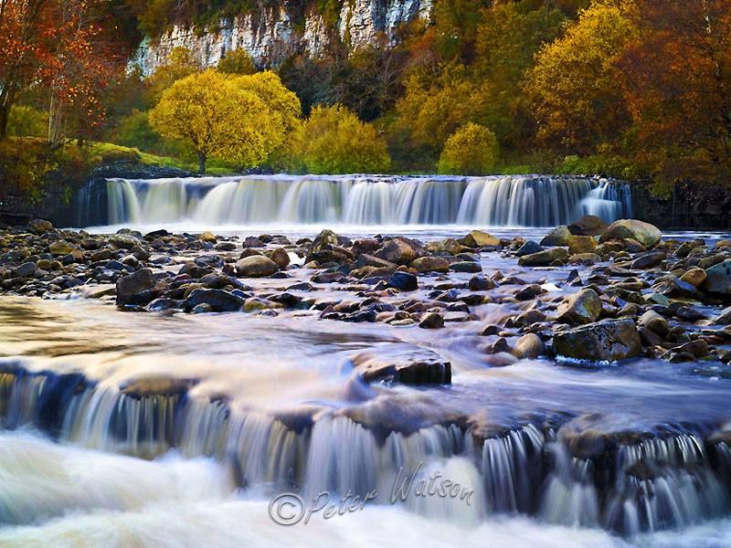 Wain Wath Yorkshire Dales England - Rivers & Waterfalls