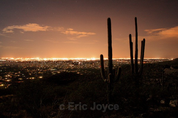Tucson from the Catalinas - Tuscon, Arizona