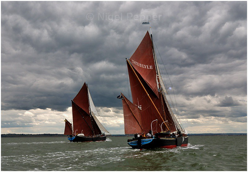Racing Pair (3) - The Thames Barge Match