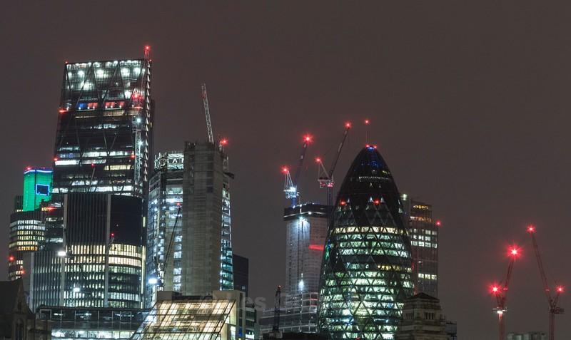 changing skyline - London