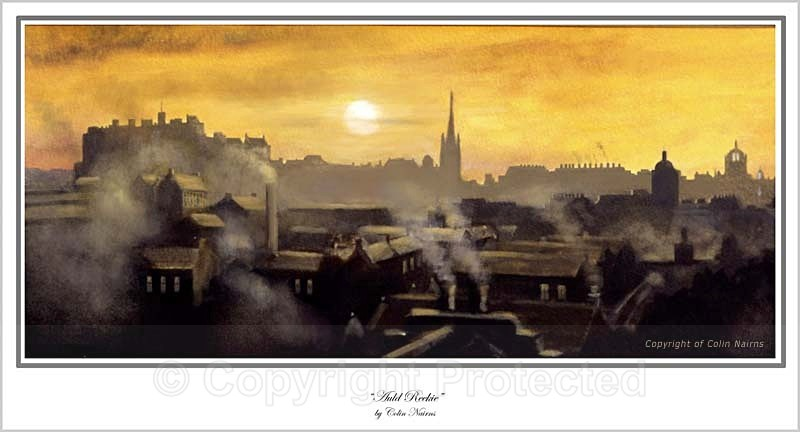 'Auld Reekie' - Edinburgh Paintings