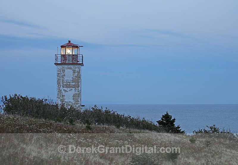 Quaco Head Lighthouse New Brunswick Canada - Lighthouses of New Brunswick