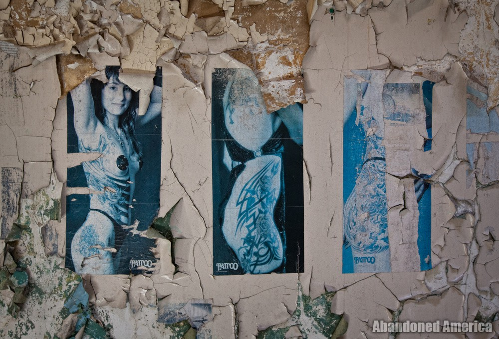 Magazine triptych, Holmesburg Prison, Philadelphia PA | Abandoned America by Matthew Christopher