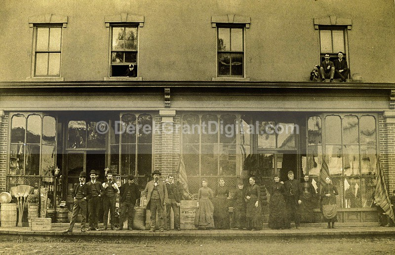 Dry-Goods Store Circa 1900 Sussex New Brunswick Canada - Historic New Brunswick