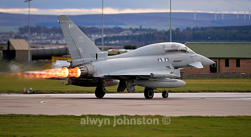 TYPHOON 11 - RAF LOSSIEMOUTH VISIT NOV 2017