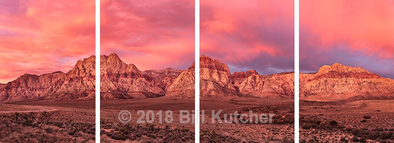 Red Rock Pano 4 Panel - Current Show