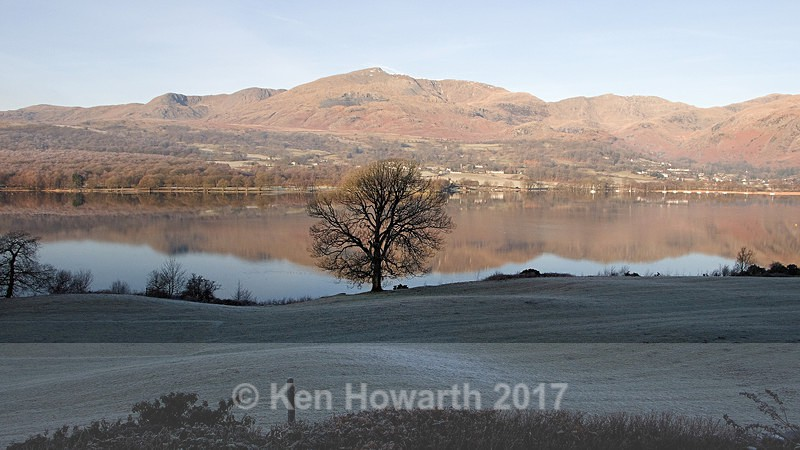 Old Man of Coniston from Brantwood - Lakeland Landscapes