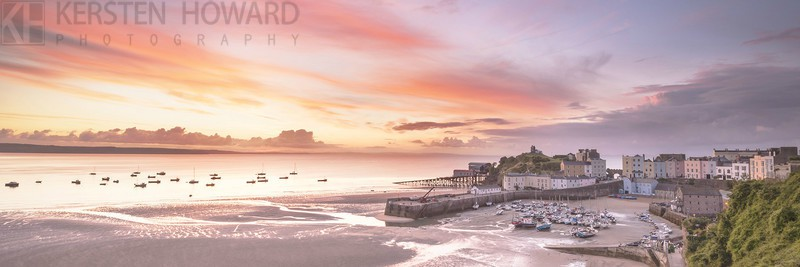 A New Day Dawns - Tenby - Images from book