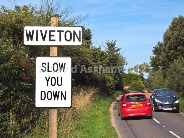 SLOW  YOU DOWN! - Humour