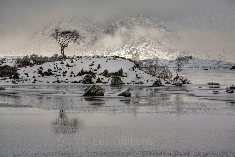 Rannoch in Winter - Highlands and Islands