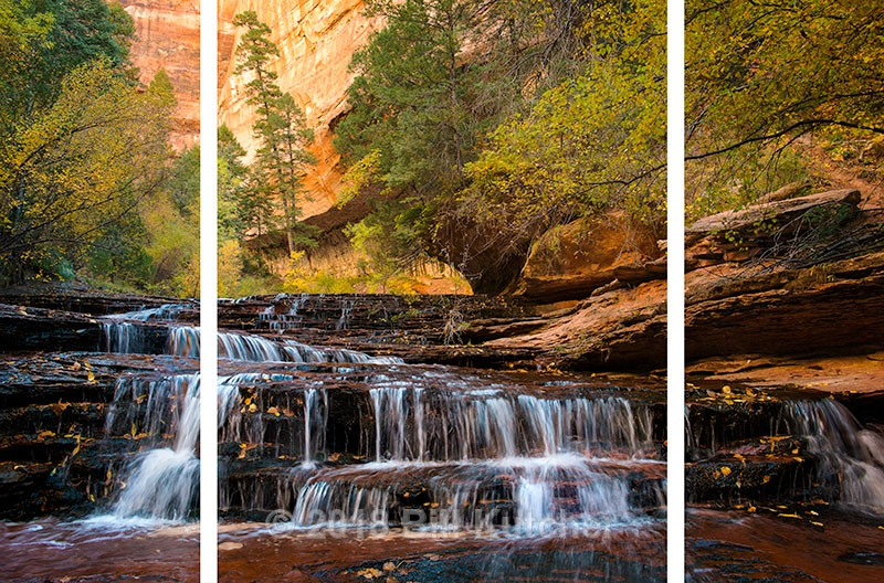 Arch Angel Falls H Triptych - Current Show