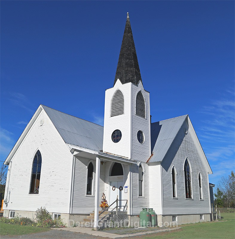 Taymouth United Church Taymouth New Brunswick Canada - Churches of New Brunswick